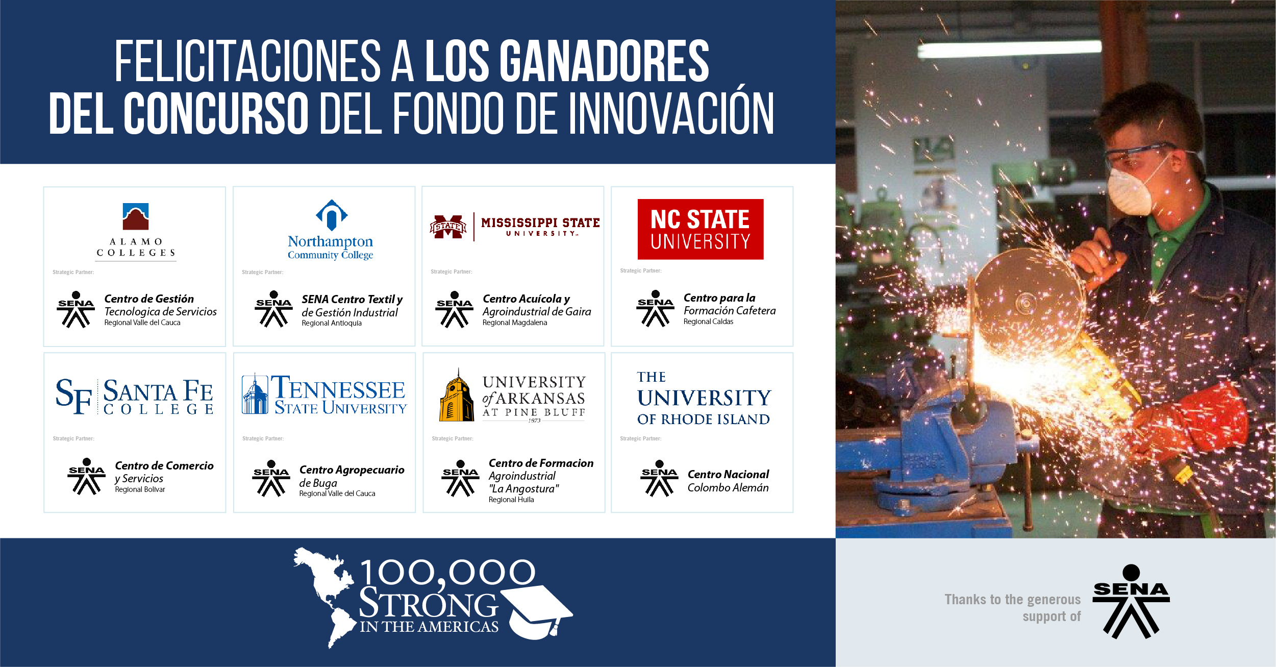Servicio Nacional de Aprendizaje (SENA) Funds New Partnerships Between  Community Colleges and Universities in the United States and Colombia 32427f476d87